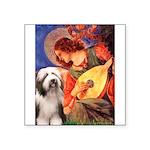 Mandolin / Beardie #1 Square Sticker 3