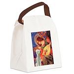 Angel / Bedlington T Canvas Lunch Bag