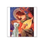 Angel / Bedlington T Square Sticker 3