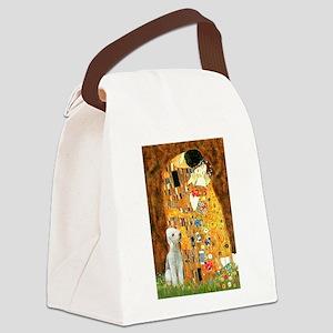 Kiss / Bedlington T Canvas Lunch Bag