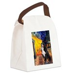 5.5x7.5-Cafe-Bernese Canvas Lunch Bag