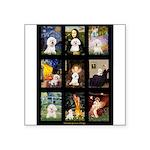 Bichon Masterpieces (A) Square Sticker 3