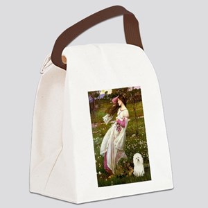 Windflowers & Bolognese Canvas Lunch Bag
