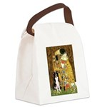 The Kiss & Border Collie Canvas Lunch Bag