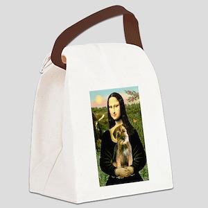 Mona & Border Terri Canvas Lunch Bag