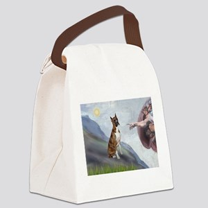 Creation...& Brindle Canvas Lunch Bag
