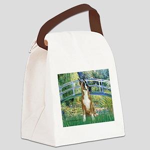 Bridge & Boxer Canvas Lunch Bag