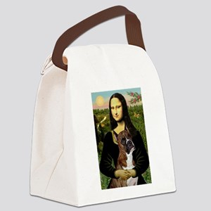 Mona & Boxer Canvas Lunch Bag