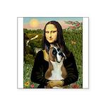 Mona & Boxer Square Sticker 3