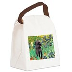 Irises / Cairn (#17) Canvas Lunch Bag