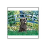 Bridge /Cairn Terrier (w) Square Sticker 3