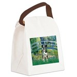 Bridge / Catahoula Leopard Dog Canvas Lunch Bag