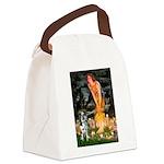 MidEve - Catahoula Leopard Canvas Lunch Bag