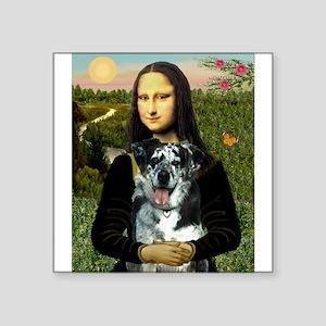 """Mona's Catahoula Leopard Square Sticker 3"""" x 3"""""""
