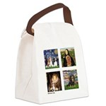 Cavalier Famous Art (clr) Canvas Lunch Bag