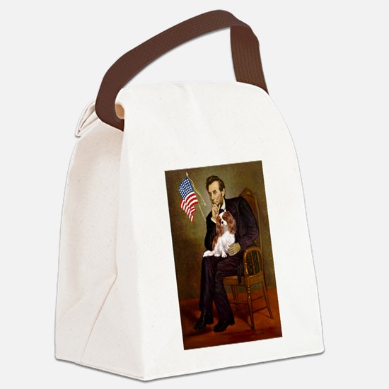 Lincoln's Cavalier Canvas Lunch Bag