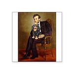 Lincoln & his Cavalier (BT) Square Sticker 3