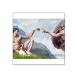 Creation / Cavalier Square Sticker 3