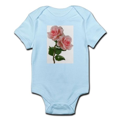 Pink Rose Infant Creeper