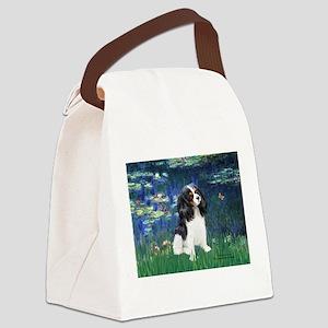 Lilies (5) & Tri Cavalier Canvas Lunch Bag