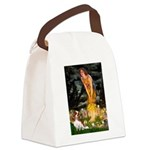 Fairies & Cavalier Canvas Lunch Bag