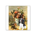 Flowers & Tri Cavalier Square Sticker 3