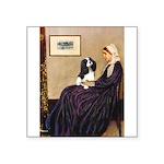 Mom's Tri Cavalier Square Sticker 3