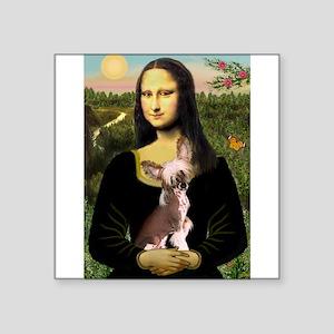 """Mona / C Crested(HL) Square Sticker 3"""" x 3"""""""