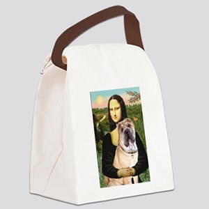 Mona Lisa's Shar Pei (#5) Canvas Lunch Bag
