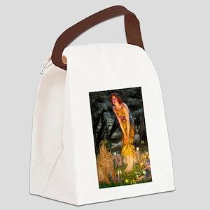Fairies / Shar Pei Canvas Lunch Bag