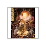 Queen / Cocker Spaniel (br) Square Sticker 3