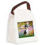 Garden / Collie Canvas Lunch Bag