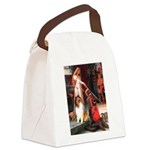 Accolade / Collie (s&w) Canvas Lunch Bag