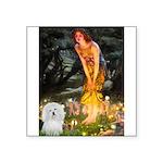 Midsummer's Eve Coton Square Sticker 3