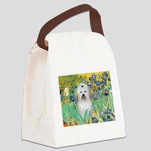Irises / Coton Canvas Lunch Bag