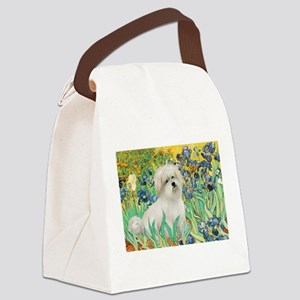 Irises / Coton Canvas Lunch Bag