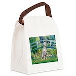 Bridge / Dalmatian #1 Canvas Lunch Bag