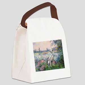 Seine / Dalmatian #1 Canvas Lunch Bag