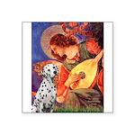 Mandolin / Dalmatian #1 Square Sticker 3