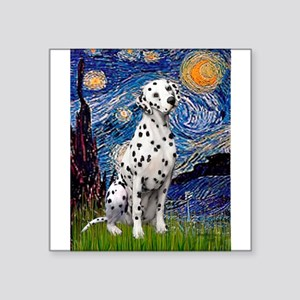 """Starry / Dalmatian #1 Square Sticker 3"""" x 3"""""""