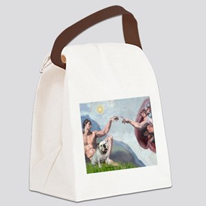 Creation / English BD (#9) Canvas Lunch Bag