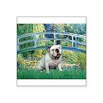 Bridge / English Bulldog (#9) Square Sticker 3