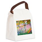 Garden / English Setter Canvas Lunch Bag