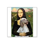 Mona's English Setter Square Sticker 3