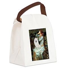 Ophelia / Eskimo Spitz #1 Canvas Lunch Bag