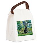 Flat Coated Retriever 2 Canvas Lunch Bag