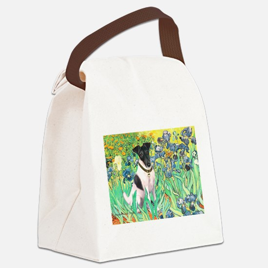 Irises / T (#1) Canvas Lunch Bag