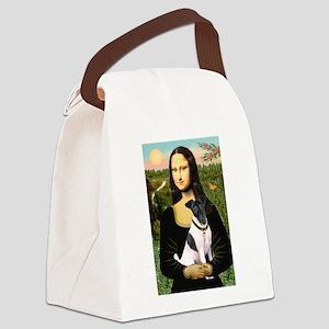 Mona's Fox Terrier #1 Canvas Lunch Bag
