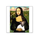 Mona & Fox Terrier Square Sticker 3