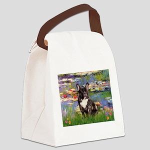 Lilies / FBD Canvas Lunch Bag